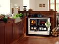 Solid fuel range cooker